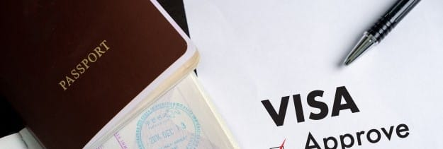 Passport and visa approved