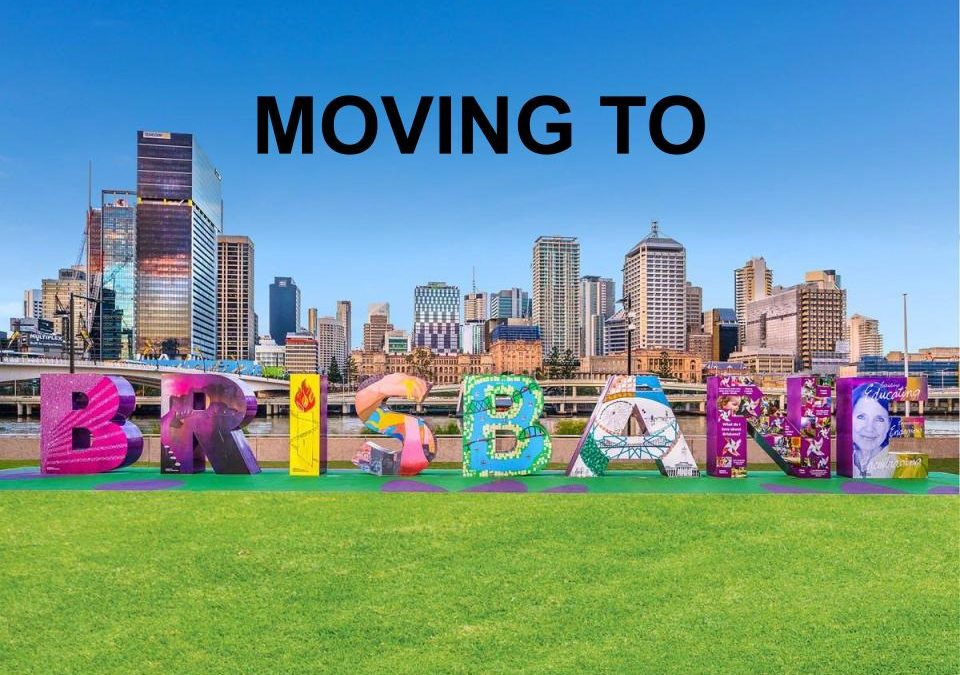 Moving to Brisbane