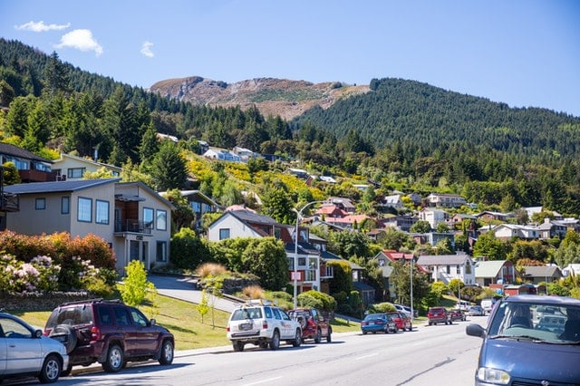 A small town in New Zealand.